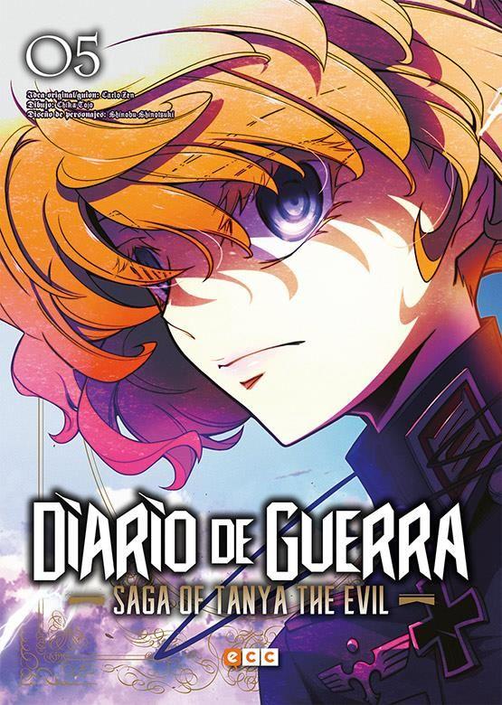 Diario de guerra - Saga of Tanya the evil 05
