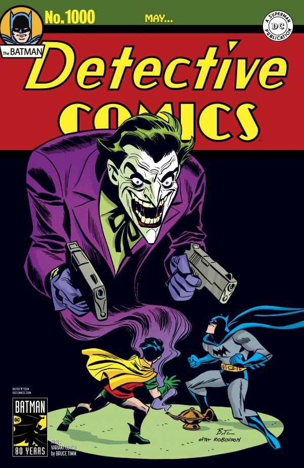 DETECTIVE COMICS #1000 (VARIANT COVER 1940 BRUCE TIMM)