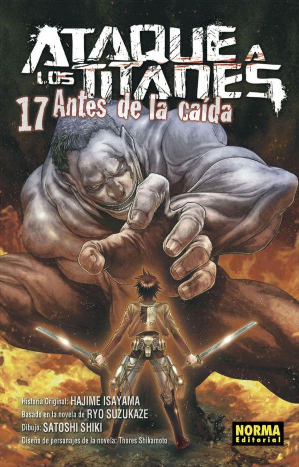ATAQUE A LOS TITANES. ANTES DE LA CAÍDA 17