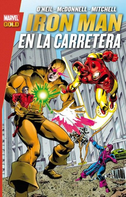 MARVEL GOLD. IRON MAN: EN LA CARRETERA