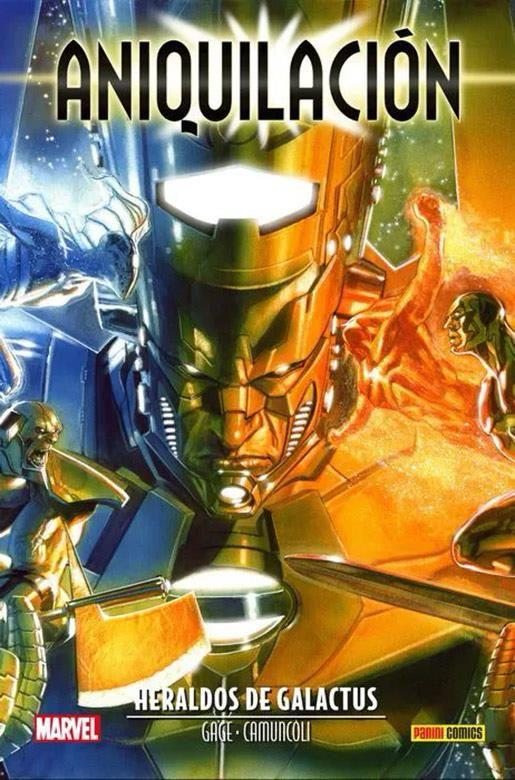 Marvel Saga. Aniquilación Saga 05. Heraldos de Galactus