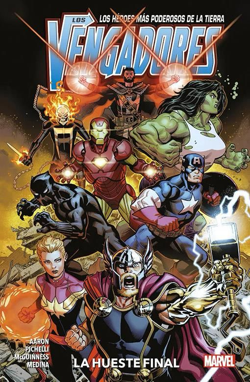 Los Vengadores 01: La Hueste Final (Marvel Premiere)