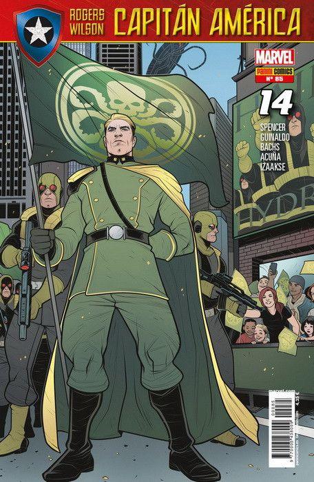 Rogers - Wilson: Capitán América   14