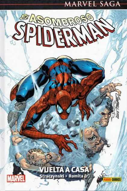 MARVEL SAGA. SPIDERMAN 01