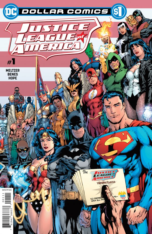 DOLLAR COMICS JUSTICE LEAGUE OF AMERICA #1 2006