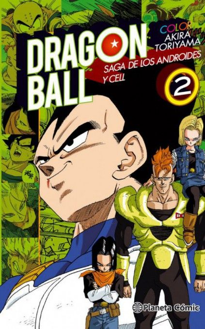 DRAGON BALL COLOR. SAGA DE LOS ANDROIDES Y CELL 02