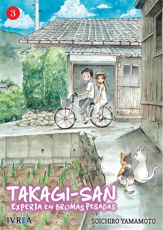 Takagi-san. Experta en bromas pesadas 03