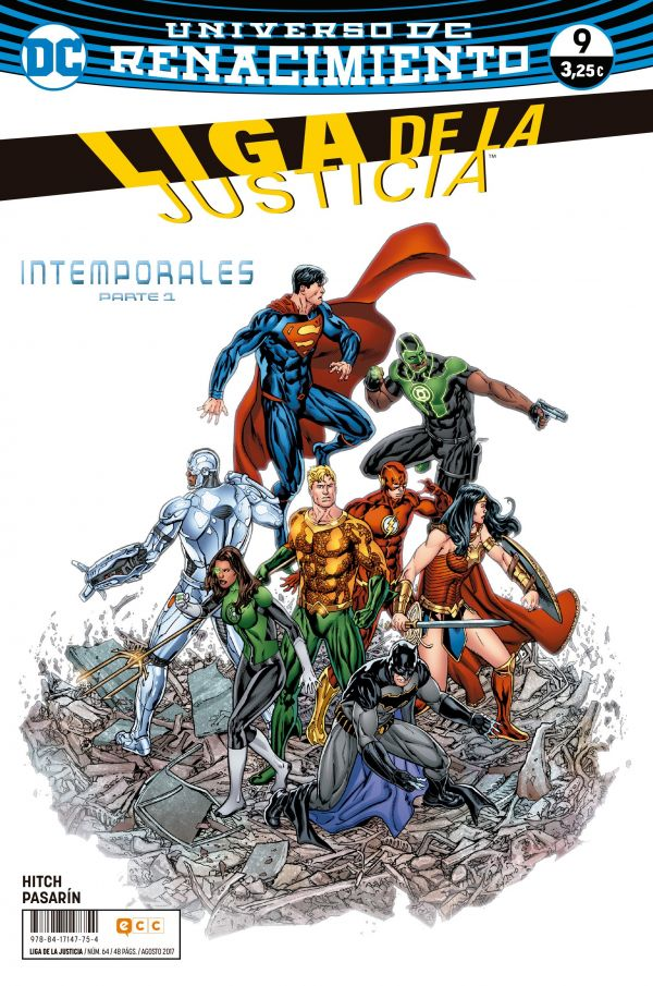 Liga de la Justicia núm. 09 (Renacimiento)
