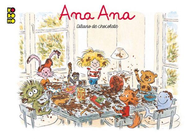 ANA ANA DILUVIO DE CHOCOLATE