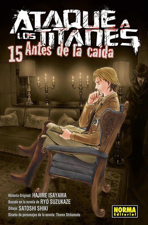 ATAQUE A LOS TITANES. ANTES DE LA CAÍDA 15
