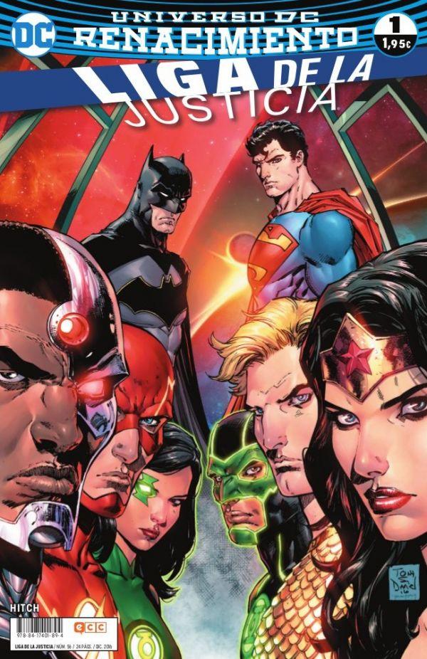 Liga de la Justicia núm. 01 (Renacimiento)