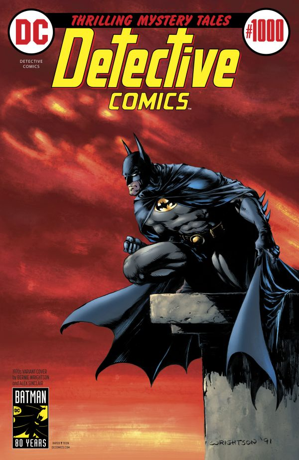 DETECTIVE COMICS #1000 (VARIANT COVER 1970 BERNIE WRIGHTSON)
