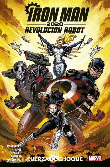 Iron Man 2020. Revolución Robot 01: Fuerza de Choque
