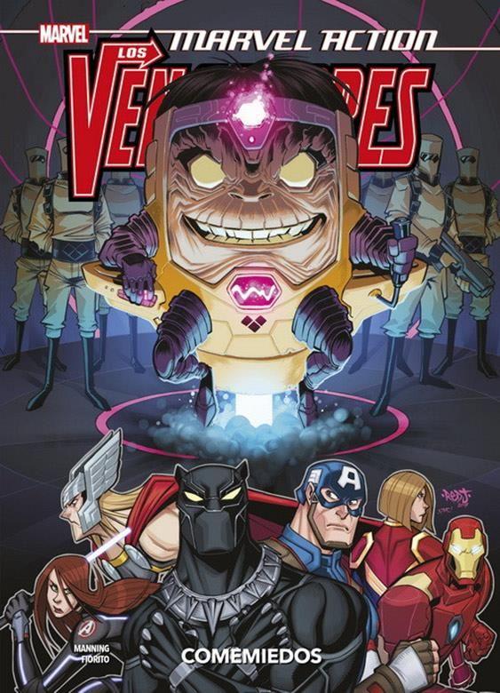 Marvel Action. Los Vengadores 03. Comemiedos