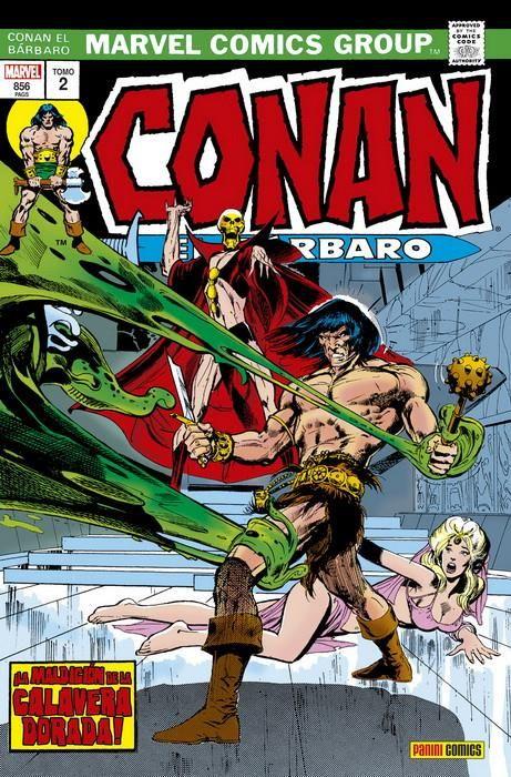 Conan el Bárbaro: La Etapa Marvel Original 02 ¡La maldición de la calavera dorada! (Marvel Omnibus)