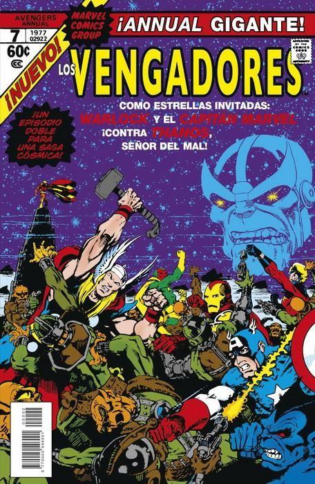 Marvel Facsímil. The Avengers Annual 7