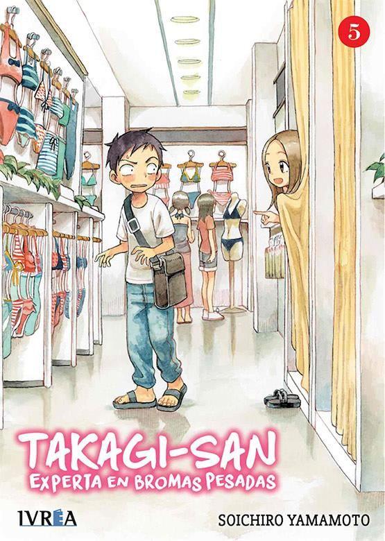 Takagi-san. Experta en bromas pesadas 05