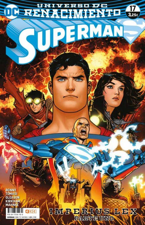 Superman núm. 17 (Renacimiento)