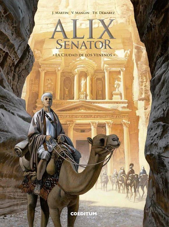 Alix Senator 08: La ciudad de los venenos