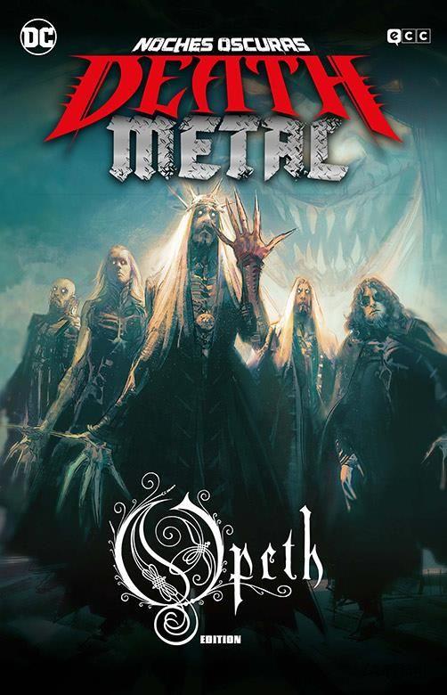 Noches oscuras: Death Metal 04 de 7 (Opeth Band Edition) (Cartoné)