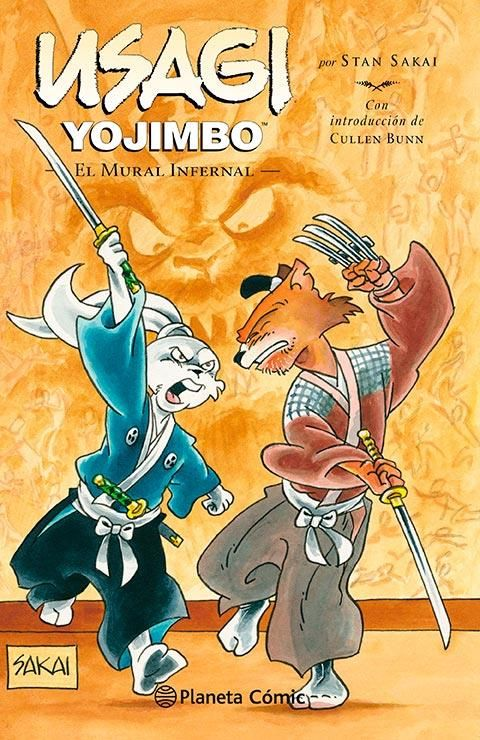 Usagi Yojimbo 31: El mural infernal