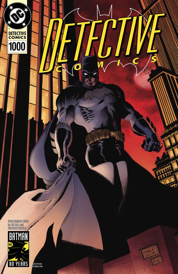 DETECTIVE COMICS #1000 (VARIANT COVER 1990 TIM SALE)