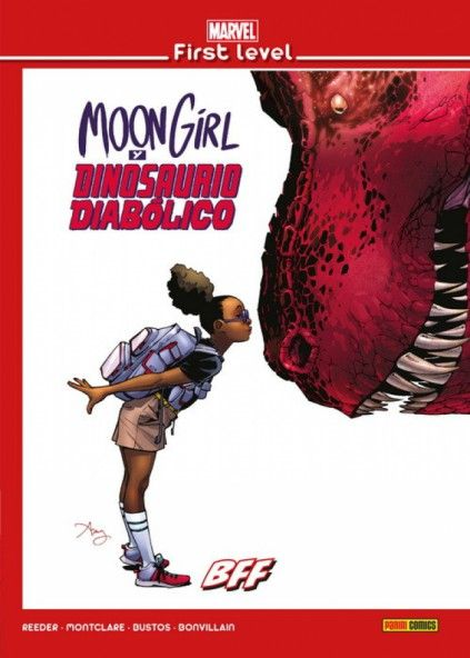 MARVEL FIRST LEVEL 14: MOON GIRL Y DINOSUARIO DIABÓLICO