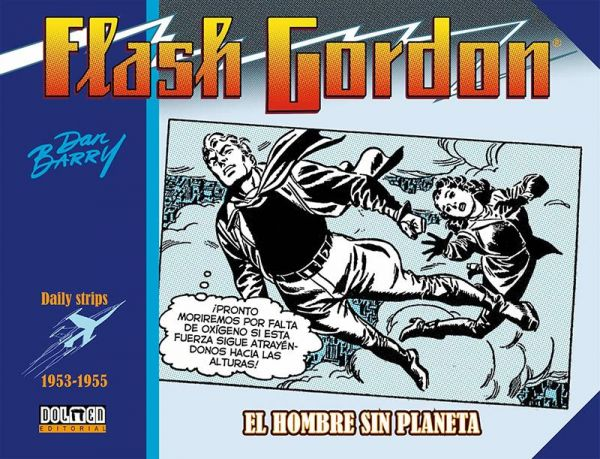 Flash Gordon. El hombre sin planeta. 1953-1955
