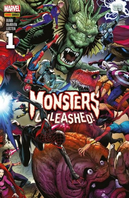 Monsters Unleashed! (Completa)