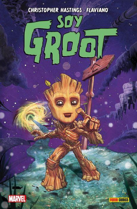 100% Marvel HC. Soy Groot