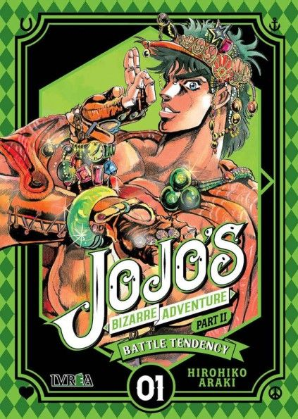 JOJO'S BIZARRE ADVENTURE. PART II : BATTLE TENDENCY 01