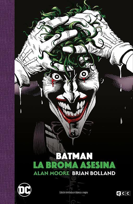 Batman: La broma asesina (Edición Deluxe limitada en blanco y negro)