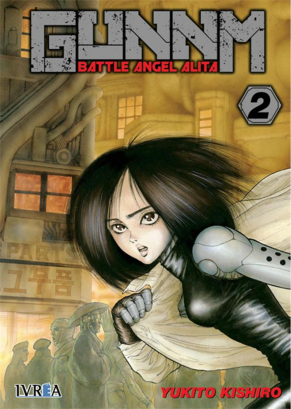 GUNNM (BATTLE ANGEL ALITA) 02