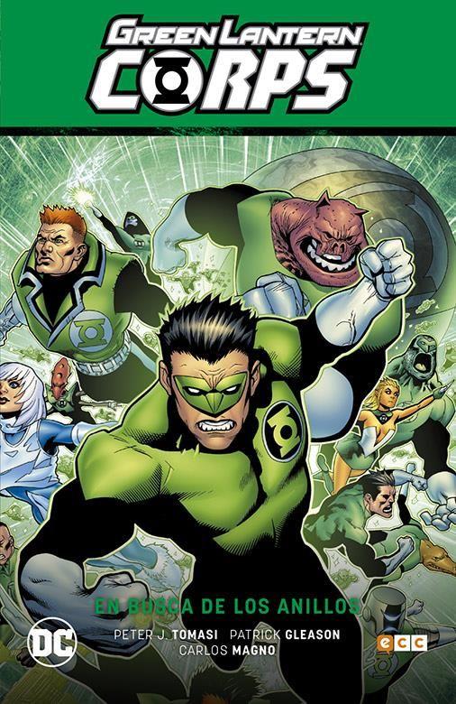 Hal Jordan y los Green Lantern Corps vol. 04: En busca de los anillos (Renacimiento Parte 4)