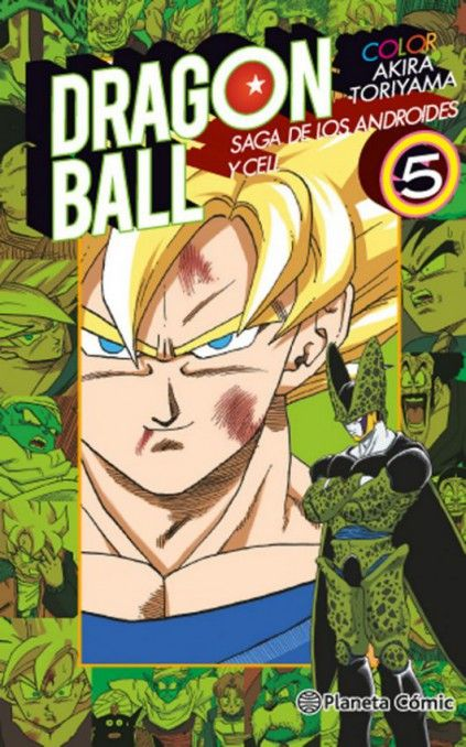 DRAGON BALL COLOR. SAGA DE LOS ANDROIDES Y CELL 05