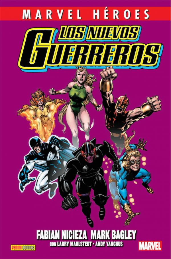 LOS NUEVOS GUERREROS 01