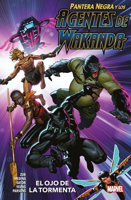 Pantera Negra y los Agentes de Wakanda 01