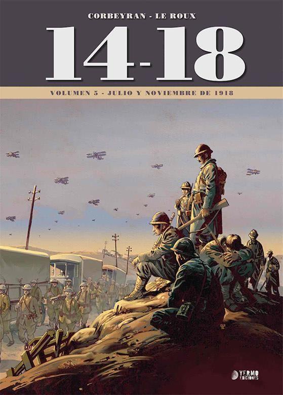 14-18. Vol. 5 (Julio y noviembre de 1918)
