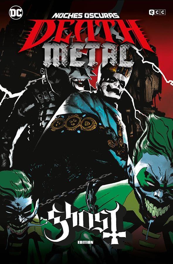 Noches oscuras: Death Metal 02 de 7 (Ghost Band Edition) (Cartoné)
