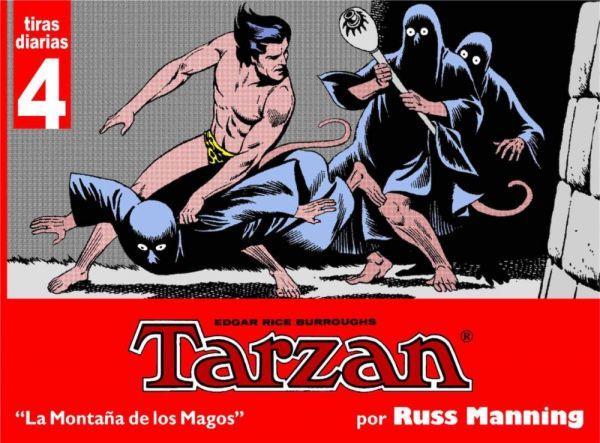 Tarzan. Tiras diarias 04 Las montañas de los magos