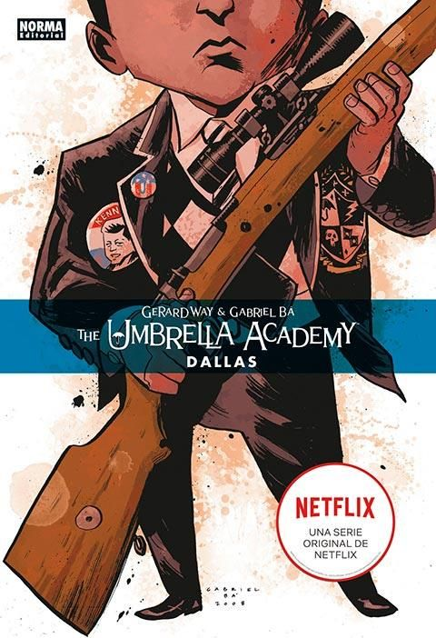 THE UMBRELLA ACADEMY INTEGRAL 02. DALLAS (TAPA DURA)
