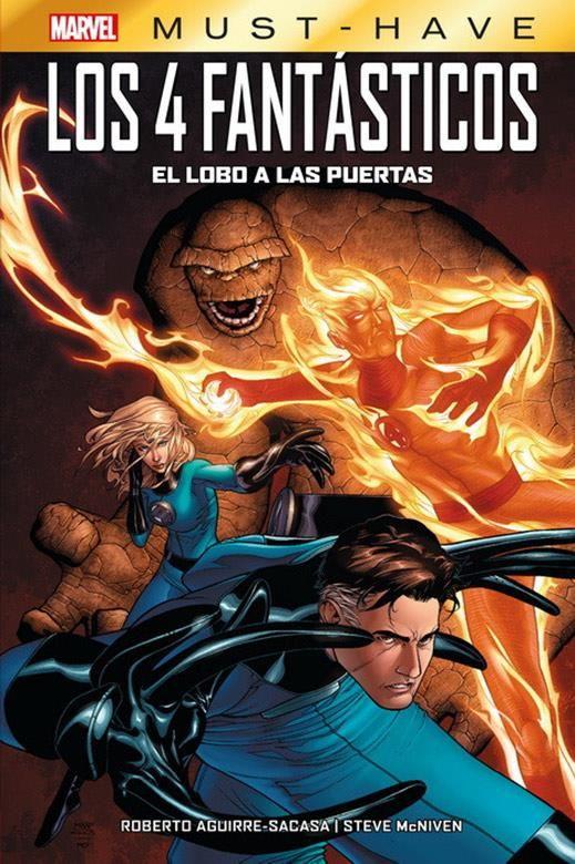 Marvel Must-Have. Los 4 Fantásticos: El lobo a las puertas