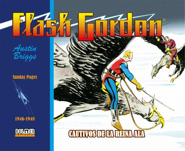 FLASH GORDON. CAUTIVOS DE LA REINA ALA 1946-1948