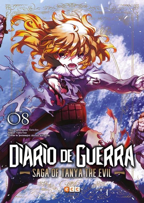 Diario de guerra - Saga of Tanya the evil 08