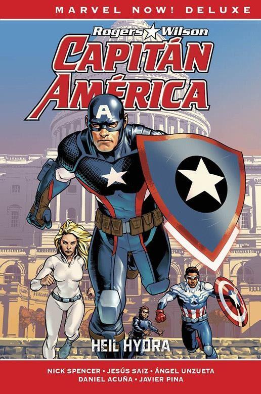 Capitán América de Nick Spencer 02. Hail Hydra (Cómic Marvel Now! Deluxe)