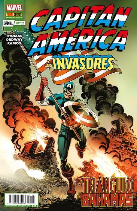 Marvel 80º Aniversario: Capitán América y los Invasores. El triángulo de las Bahamas