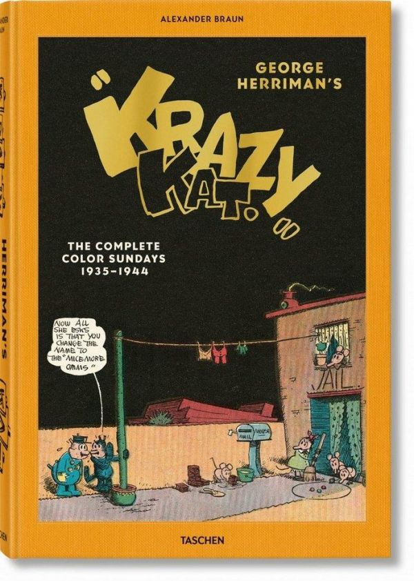 George Herriman. Krazy Kat: The Complete Color Sundays 1935-1944 (INGLÉS)