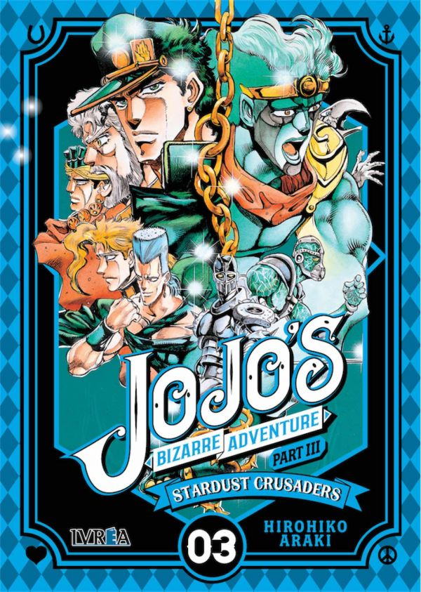 JOJO'S BIZARRE ADVENTURE. PART III : STARDUST CRUSADERS 03