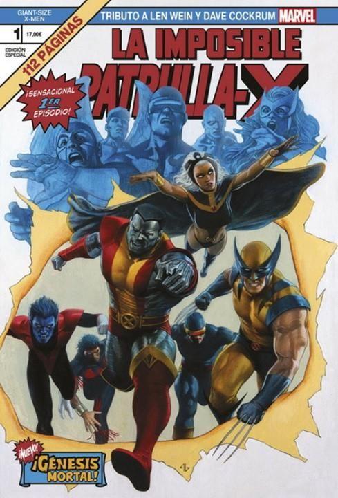 Giant Size X-Men: Tributo a Len Wein y Dave Cockrum. ¡Génesis mortal!
