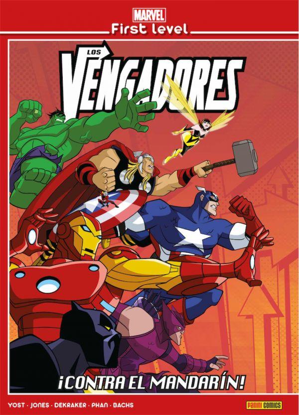MARVEL FIRST LEVEL 03. LOS VENGADORES: ¡CONTRA EL MANDARIN!